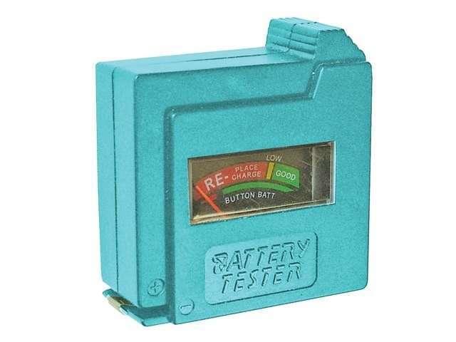 Faithfull Battery Tester for AA, AAA, C, D & 9V