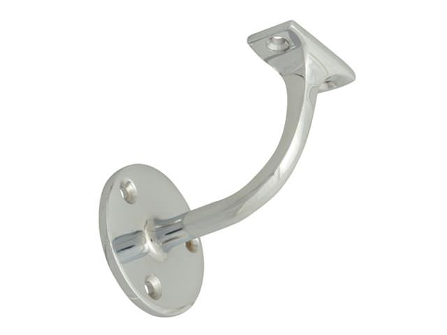 Handrail Bracket - Chrome Finish