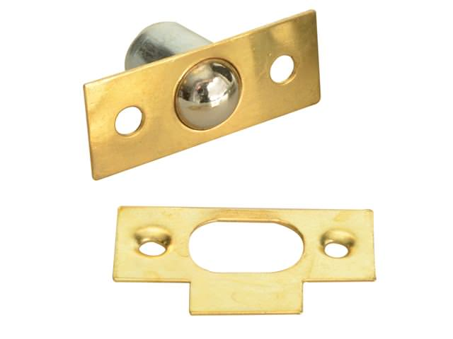 Bales Catch - Brass Finish