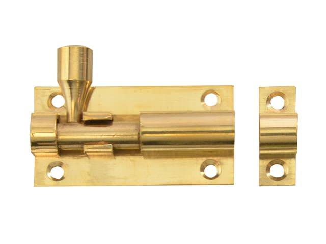 Door Bolt - Brass