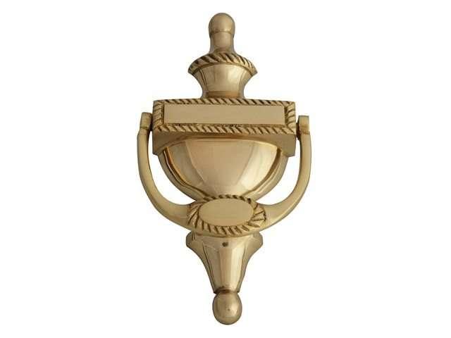 Door Knocker - Georgian Brass Finish