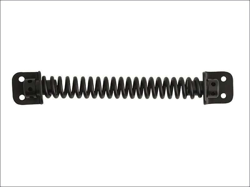 Gate Spring - Black Powder Coated 210mm
