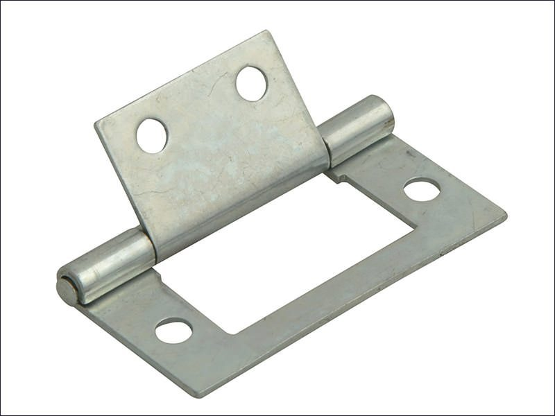 Flush Hinge Zinc Plated