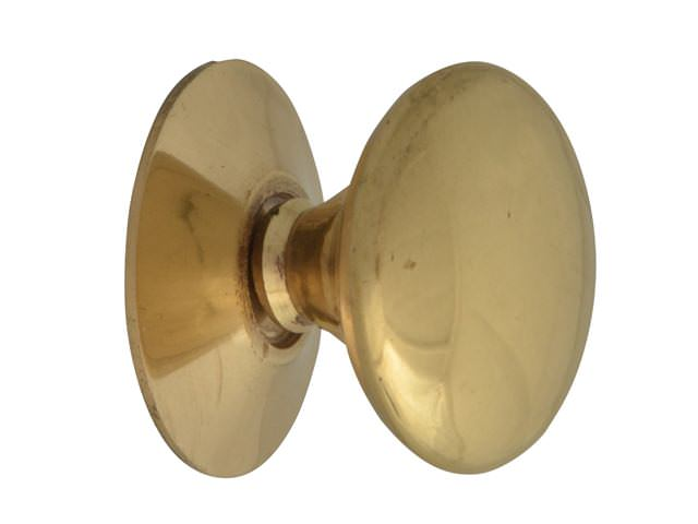 Cupboard Knobs - Victorian Brass Finish