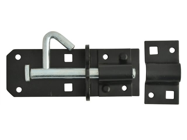 Padlock Bolt Black Powder Coated