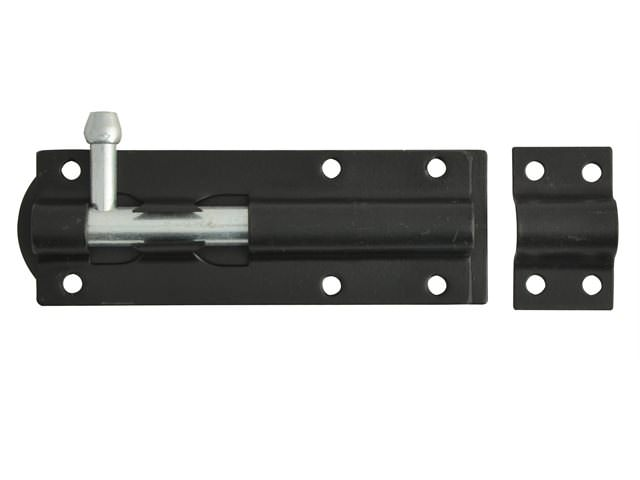 Tower Bolt Black Powder Coated