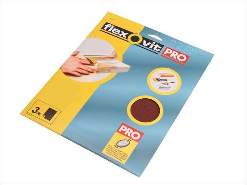 Flexovit Aluminium Oxide Sanding Sheets