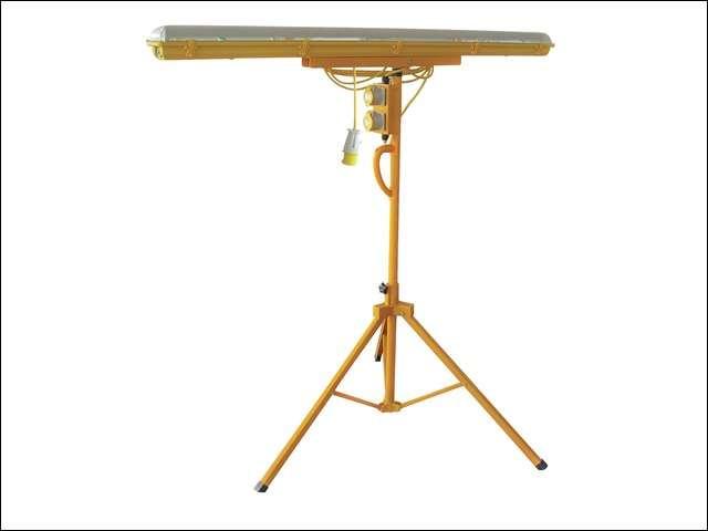 Plasterers Tripod Light 5ft 58 Watt