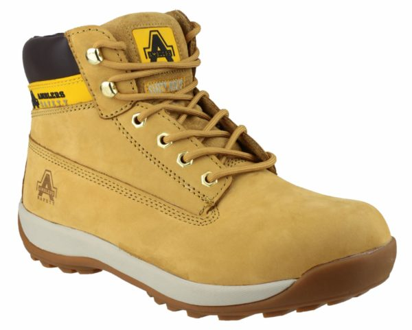 Amblers FS102 Nubuck Lace Safety Boot