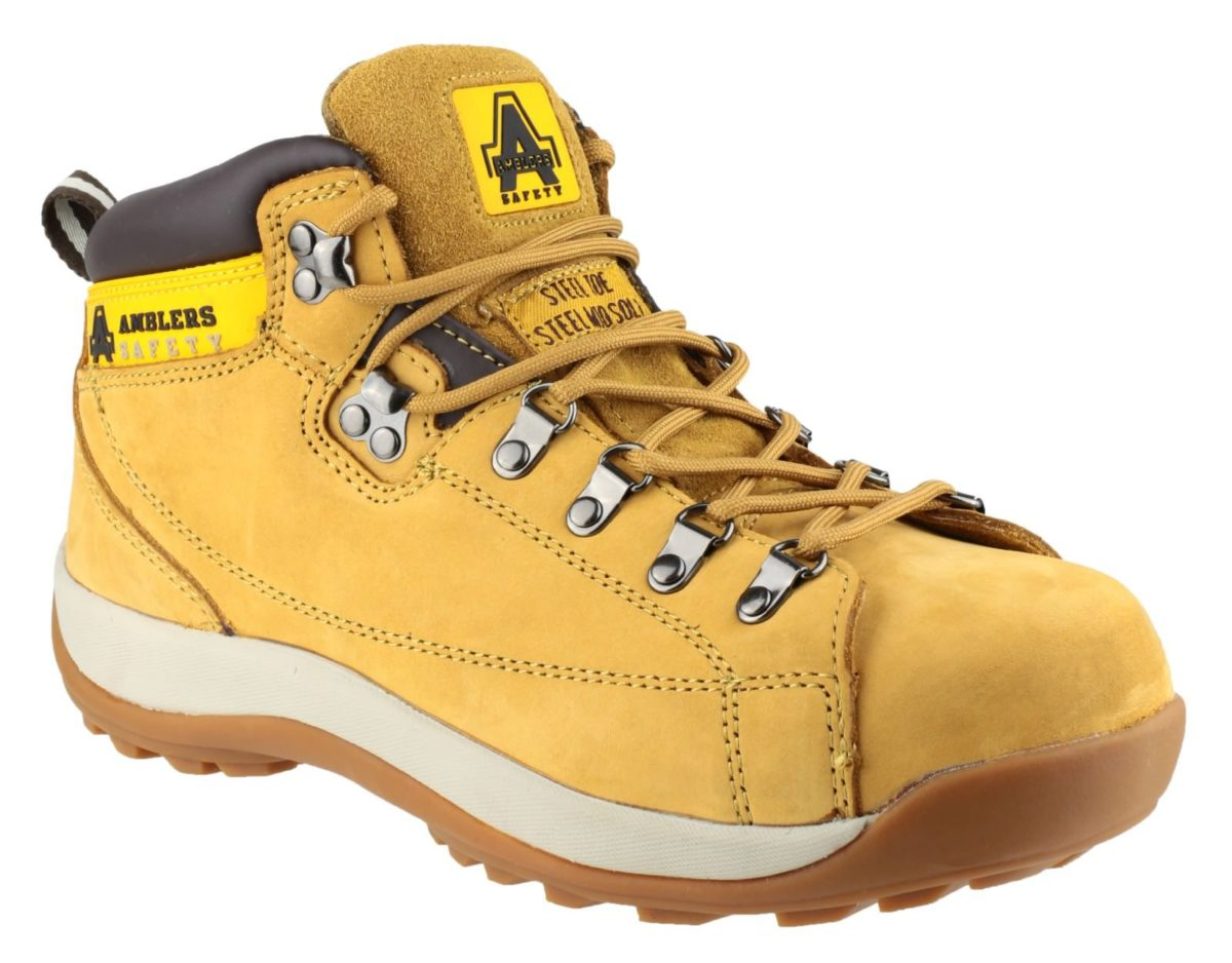 Amblers FS122 Nubuck Mid Height Hiker Safety Boot