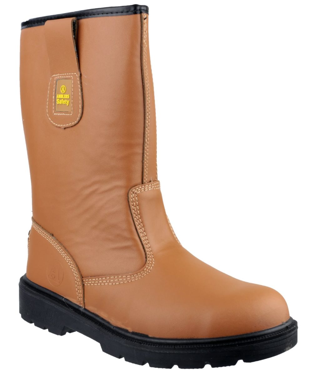 Amblers FS124 Lined Rigger Safety Boot