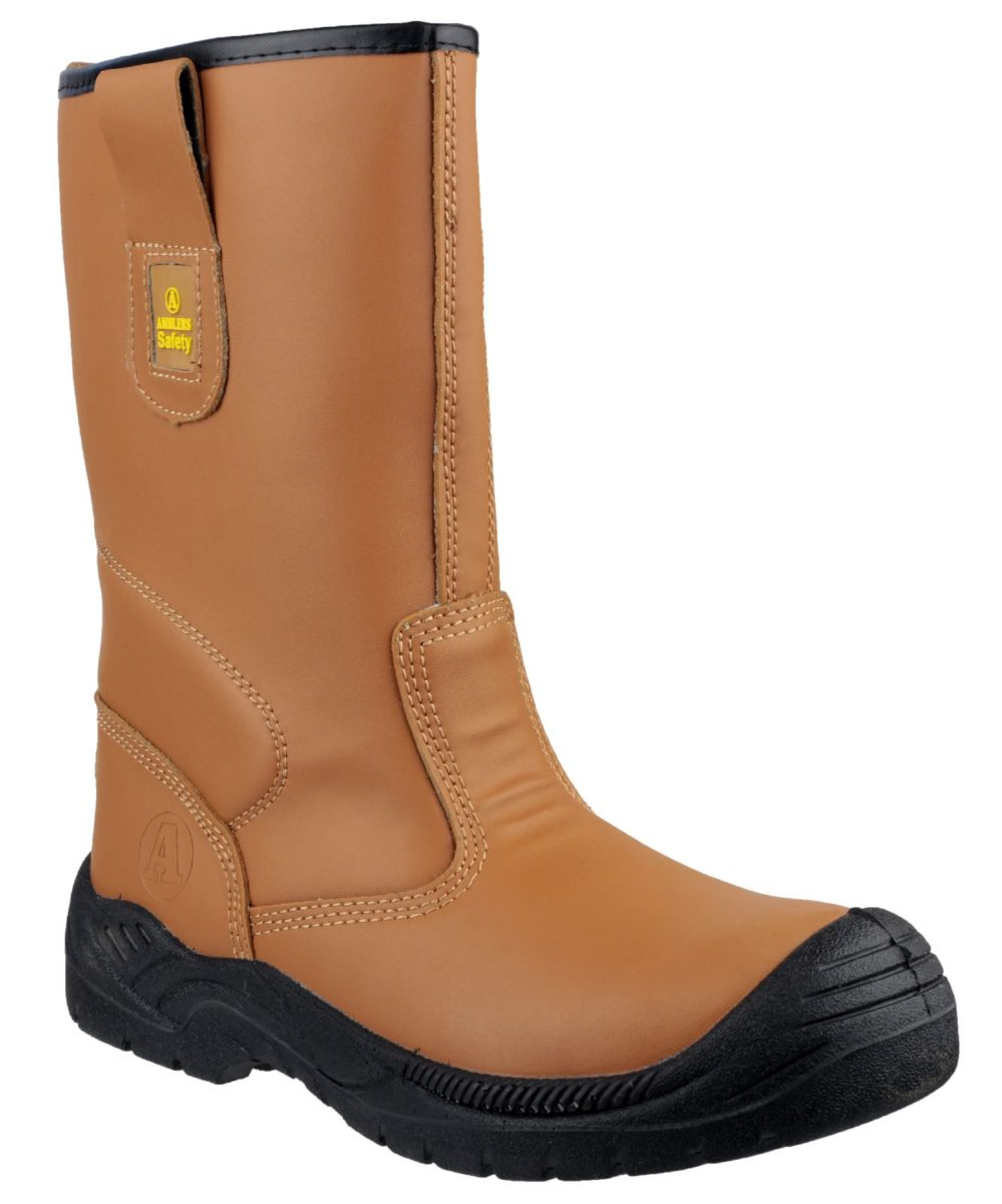 Amblers FS142 Rigger with Scuff Cap Safety Boot