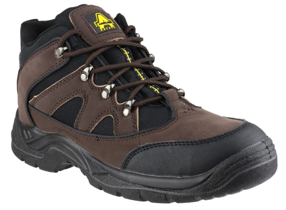 Amblers FS152 Lace Ankle Scuff Cap Safety Boot