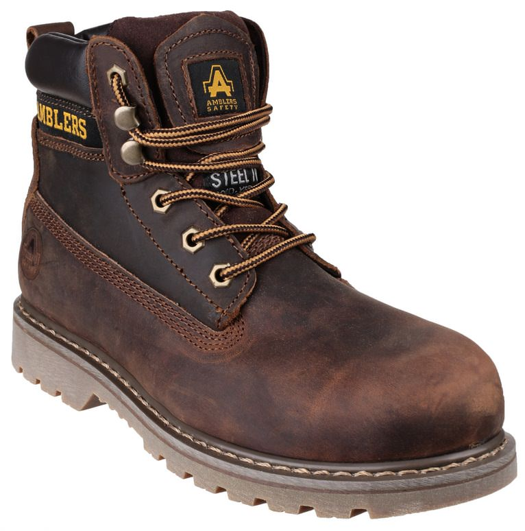 Amblers FS164 Leather Welted Safety Boot