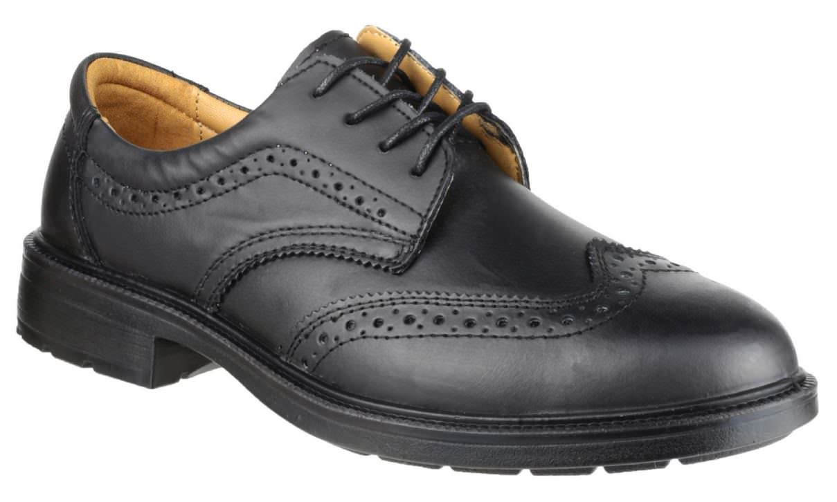 Amblers FS44 Leather Lined Brogue Safety Shoe