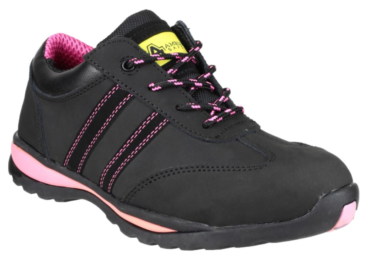 Amblers FS47 Ladies Leather Safety Trainer