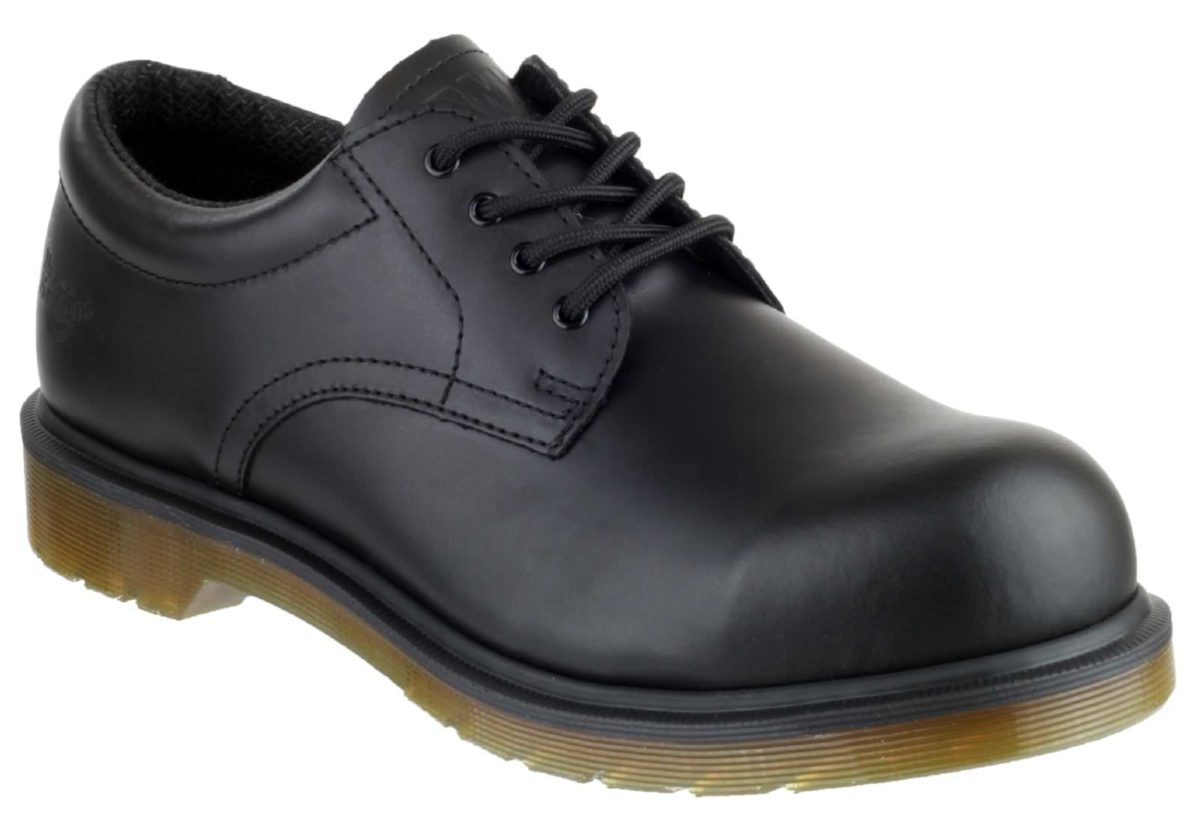 Dr Martens FS57 Black Smooth Safety Shoe