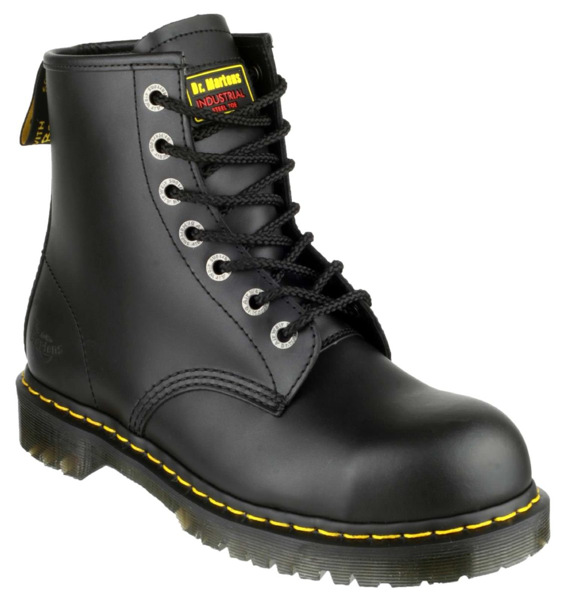 Dr Martens FS64 Black 7-Eyelet Safety Boot