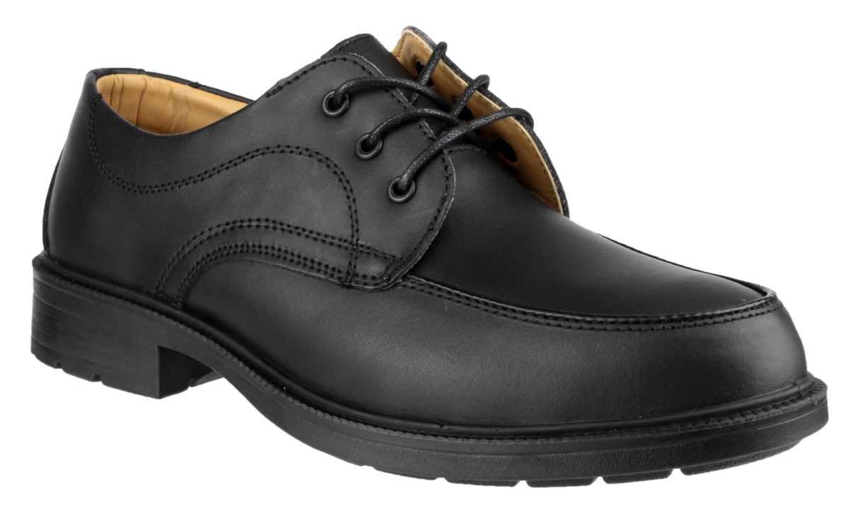 Amblers FS65 Black 3-Eyelet Lace Safety Shoe