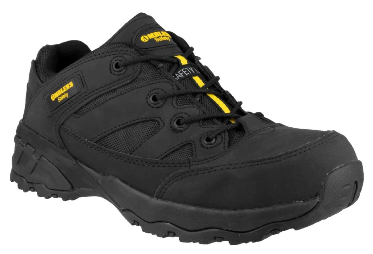 Amblers FS68c Nubuck Composite Safety Trainer