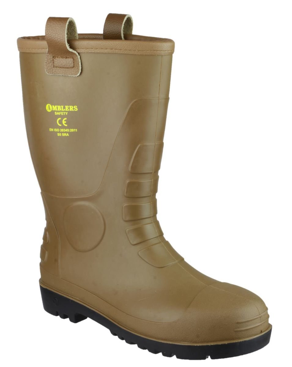 Amblers FS95 Rigger Safety Wellington Boot