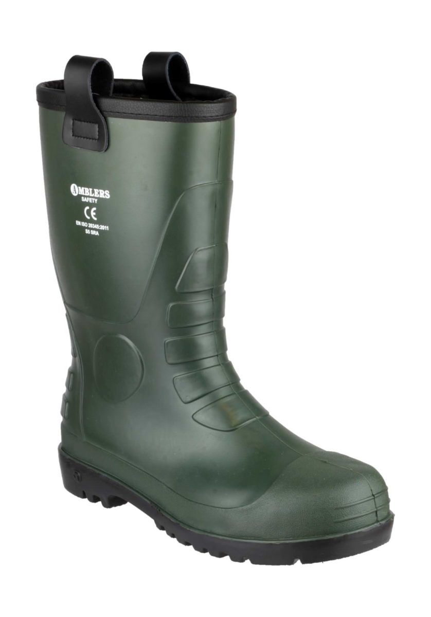 Amblers FS97 Rigger Safety Wellington Boot