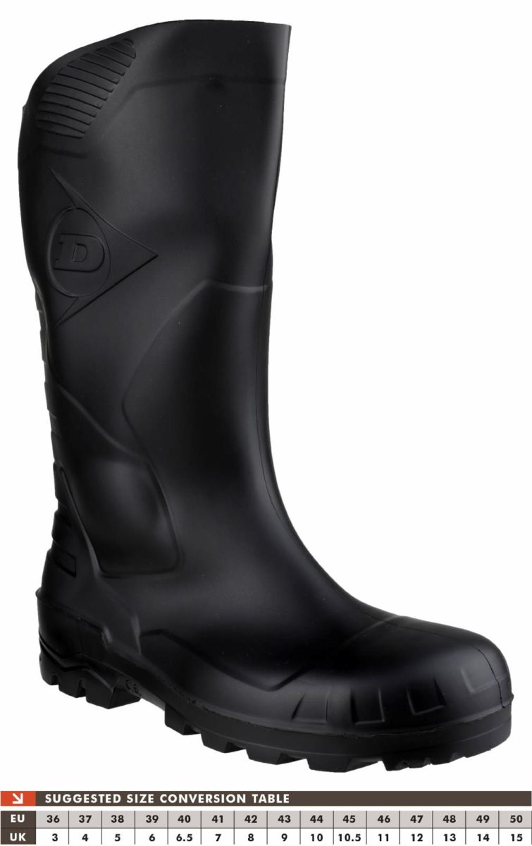 Dunlop H142011 Devon Wellington Safety Boot
