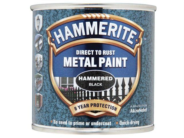 Hammerite Direct to Rust Hammered Finish Black