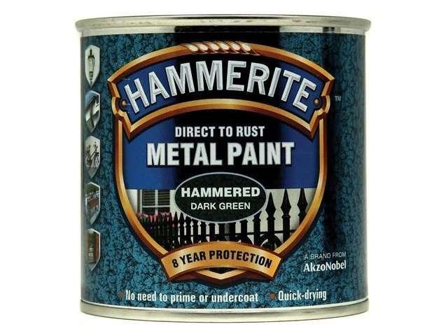 Hammerite Direct to Rust Hammered Finish Dark Green