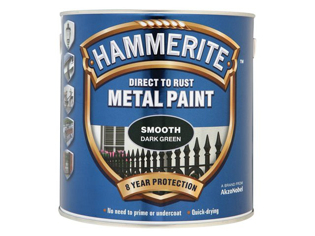Hammerite Direct to Rust Smooth Finish Dark Green