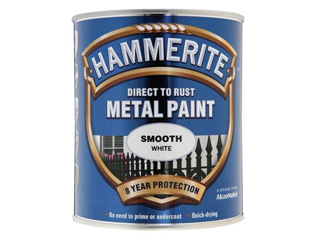 Hammerite Direct to Rust Smooth Finish White