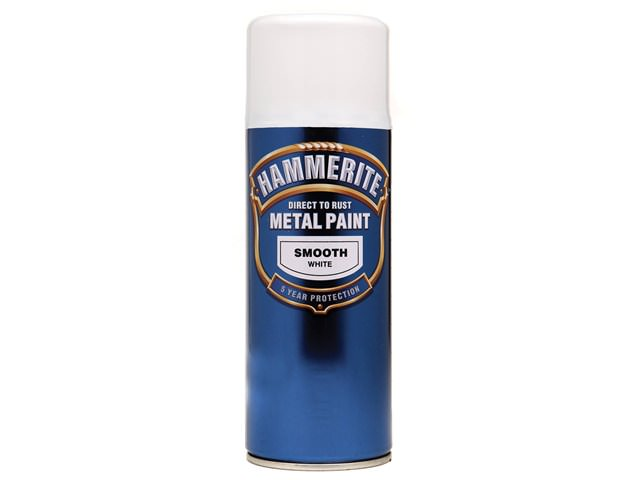 Hammerite Direct to Rust Smooth Finish Aerosol 400ml