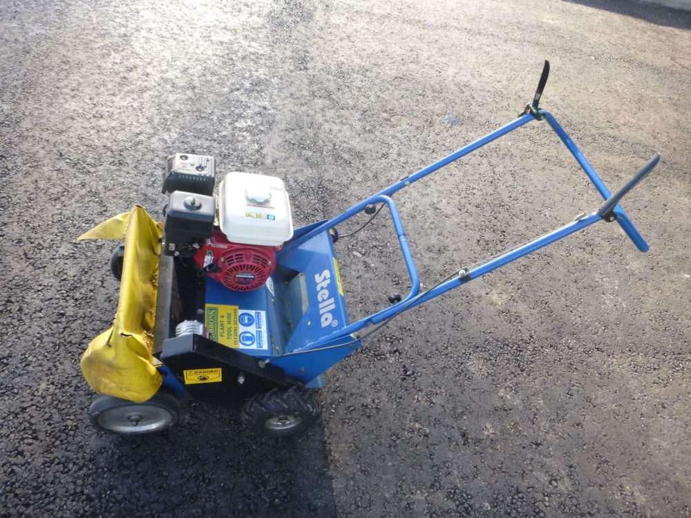 Petrol Flail Mower