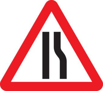 750mm Triangle Road Sign Plates