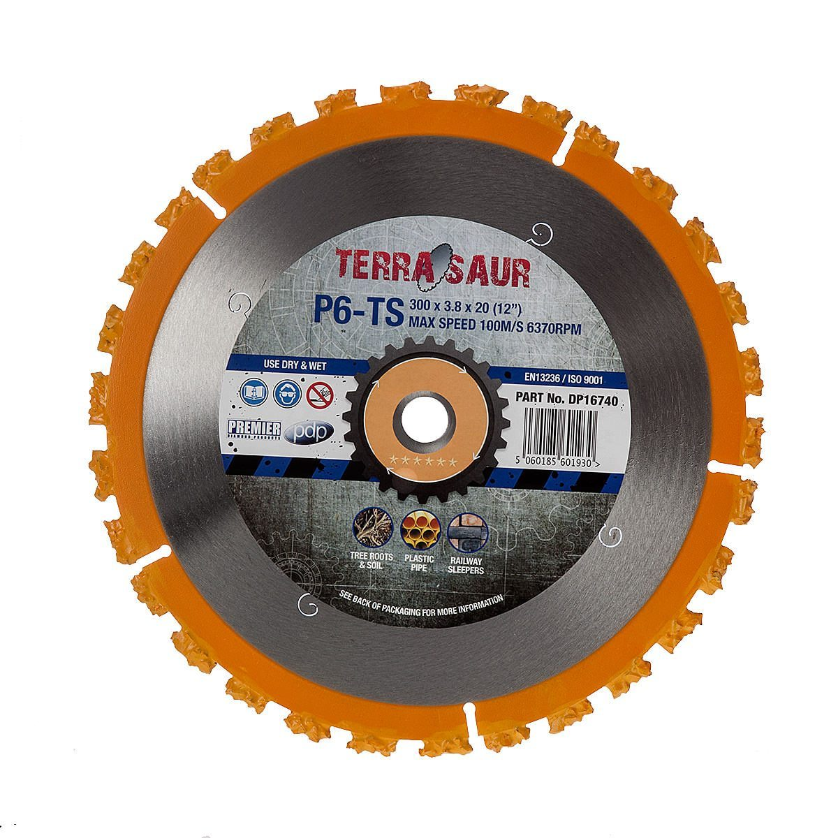 Premier Terrasaur P6-TS Carbide 300mm Blade