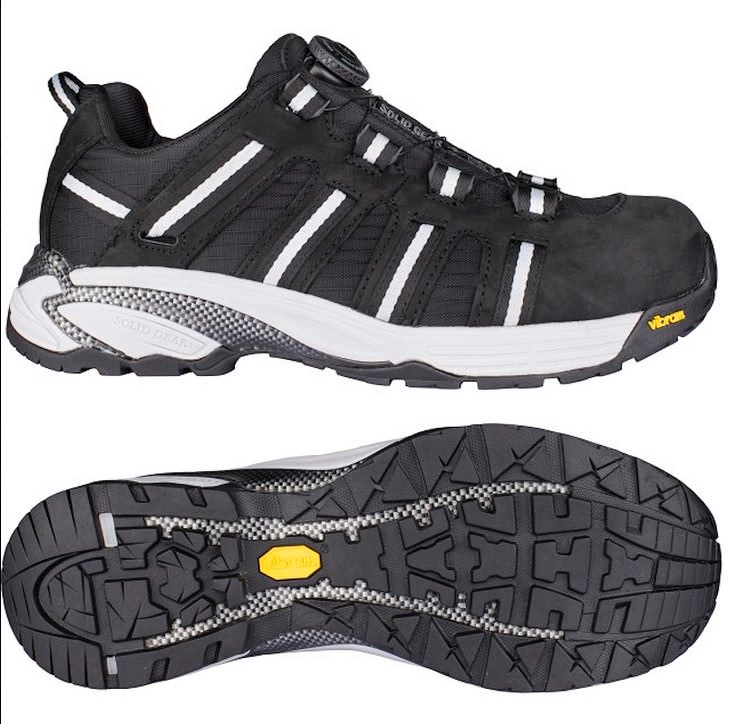 Solid Gear Vapor Ripstop Safety Shoe (from Snickers)