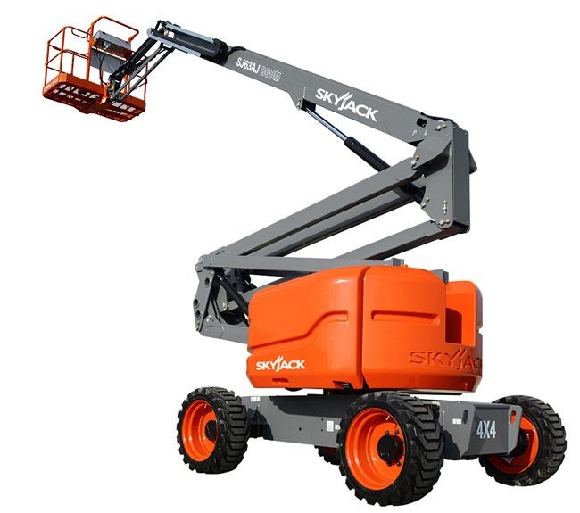 21m Self Propelled Articulating Boom Access Platform