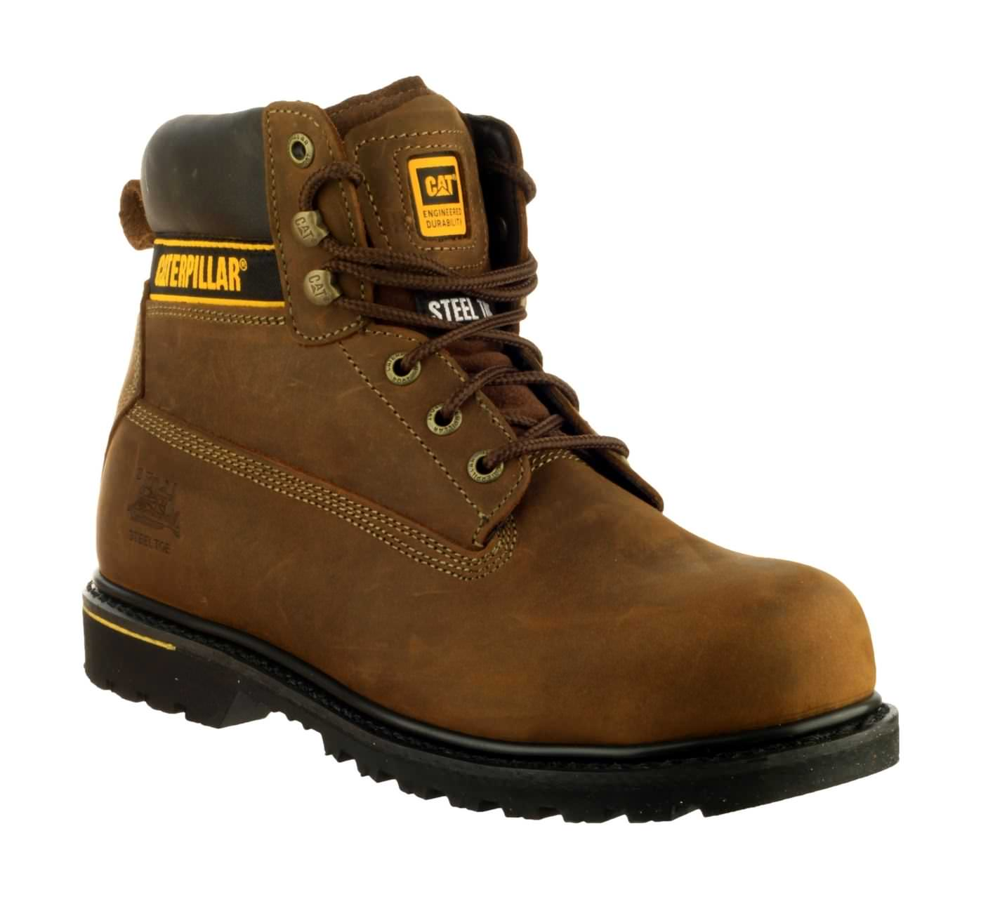 CAT Holton S3 Safety Boots