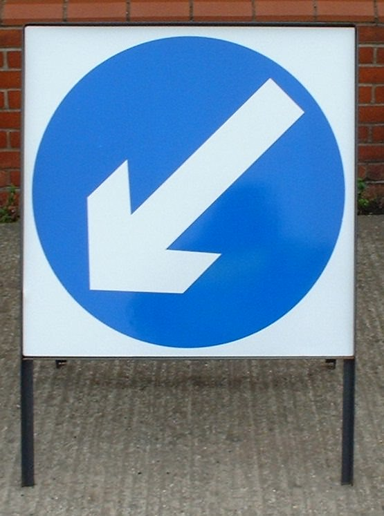 600mm Square Road Sign Plates