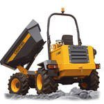 4 Tonne Swivel Dumper