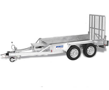2t Standard Twin Axle Plant Trailer