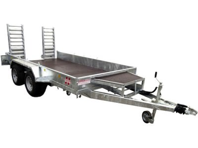 2t Wide Twin Axle Plant Trailer