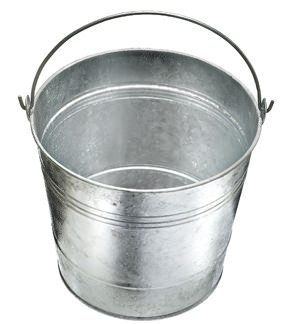 2g Galvanised Bucket