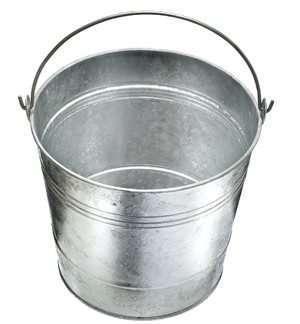 2g Galvanised Bucket
