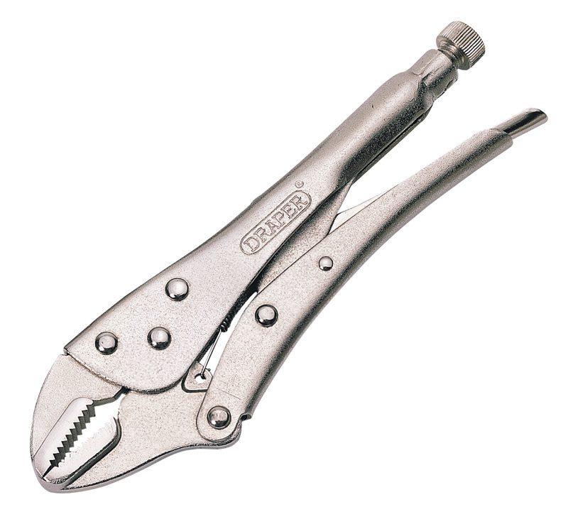 Draper 220mm Straight Jaw Self Grip Pliers 35372