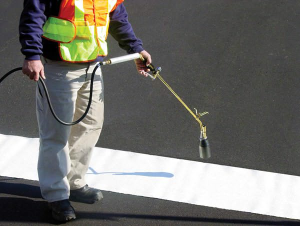 Preformed Thermoplastic Markings
