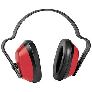 Red J Muff Ear Defenders