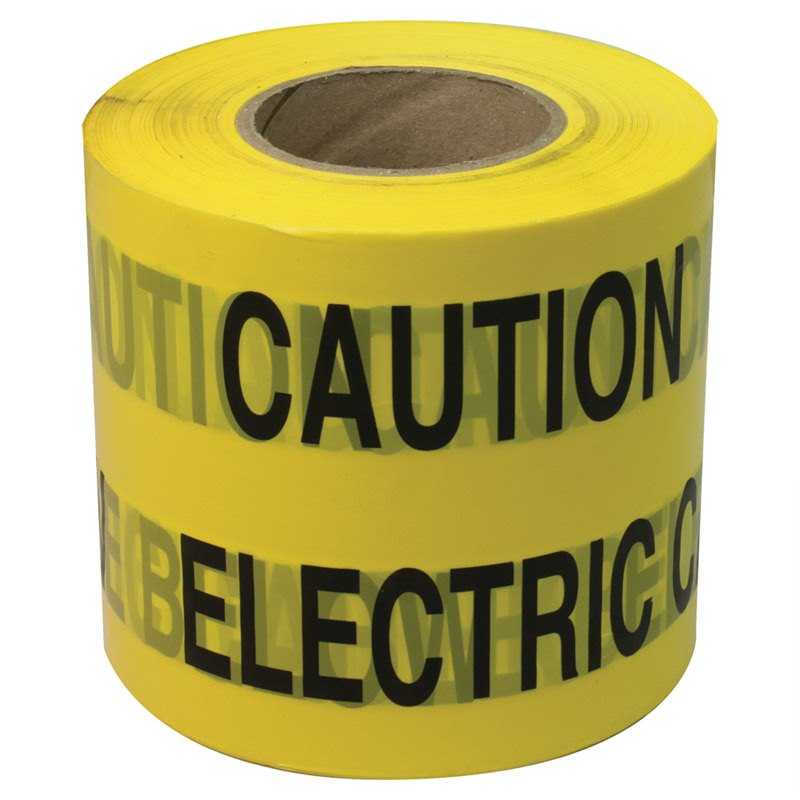 Caution Electric Cable Tape 365m