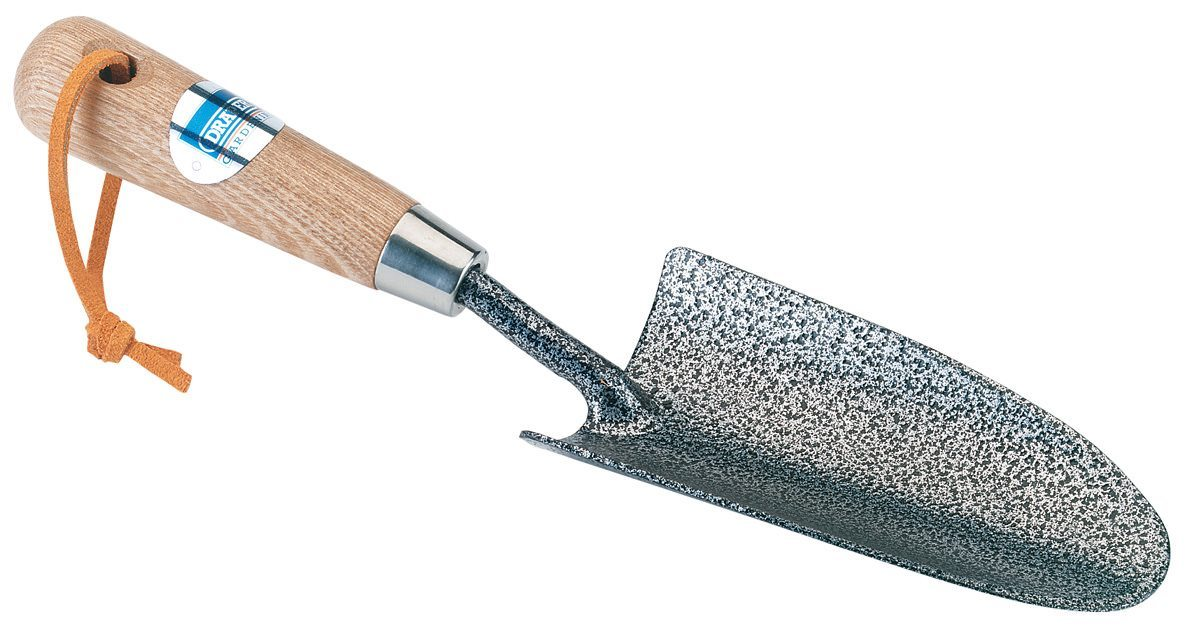 Draper Carbon Steel Heavy Duty Hand Trowel Ash Handle