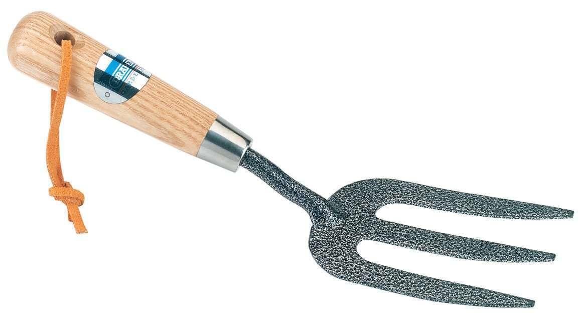 Draper Carbon Steel Heavy Duty Weeding Fork with Ash Handle